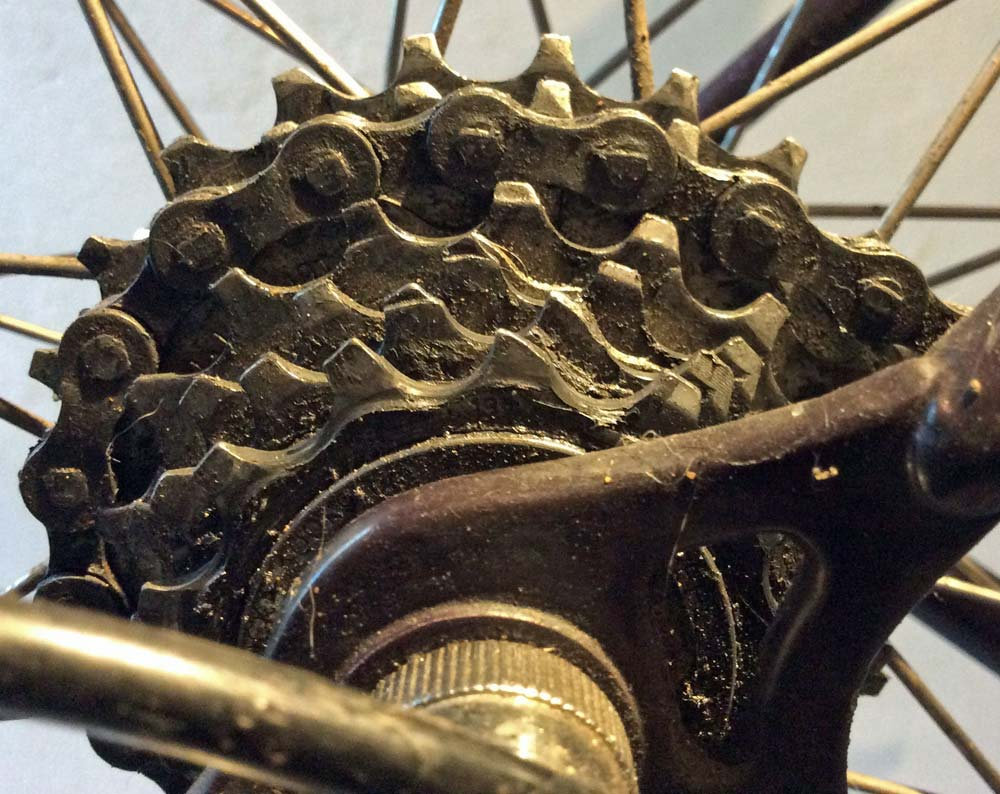Worn Cycle Cassette