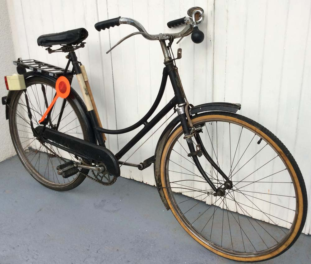 1930's Step Through Humber Bicycle