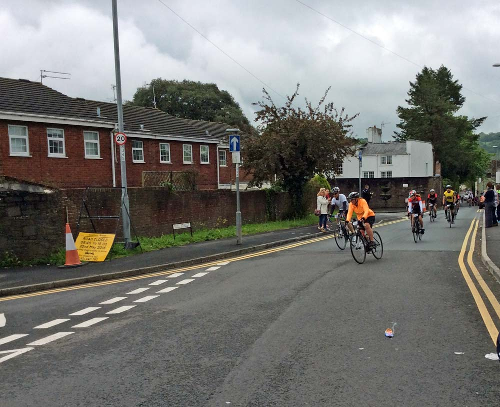 Cyclists on Road