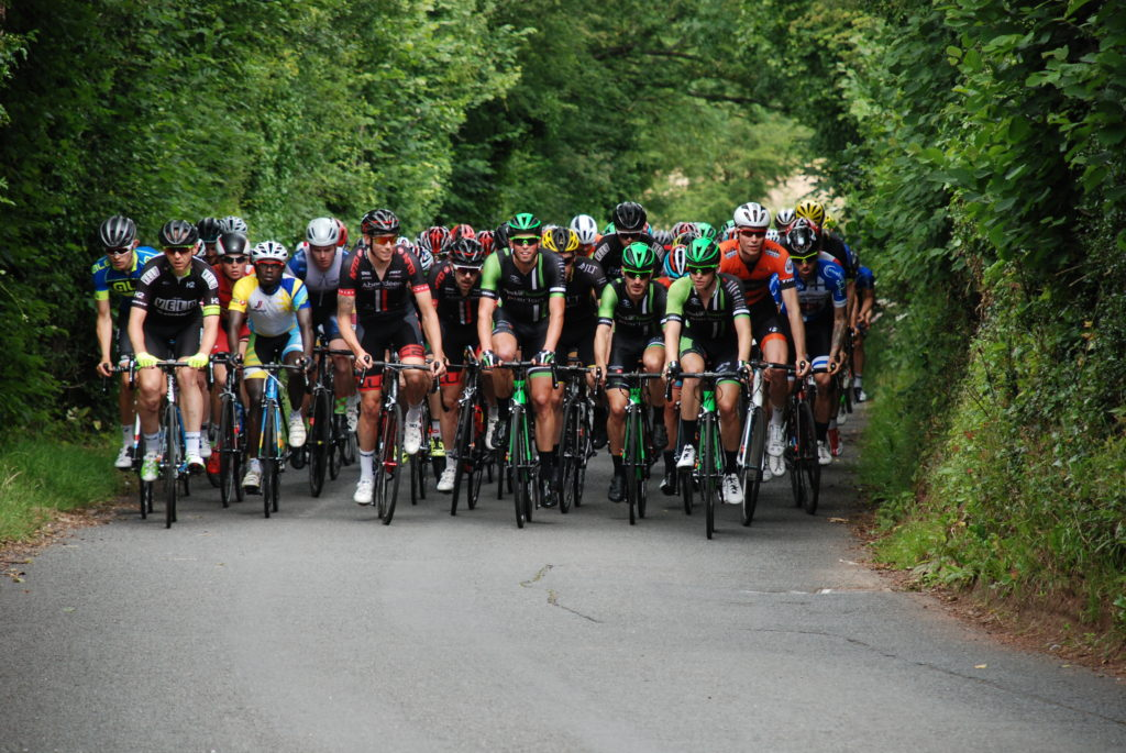 Cyclists in the Grand Prix of Wales