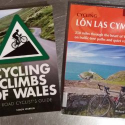 Book Covers Cycling Climbs of Wales and Lon Las Cymru