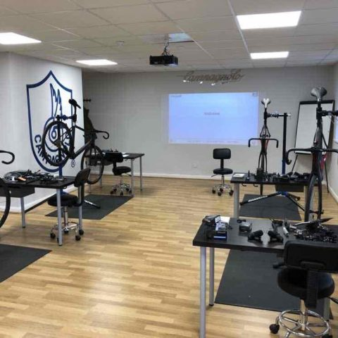 Cycle Workshop with bikes on Stands